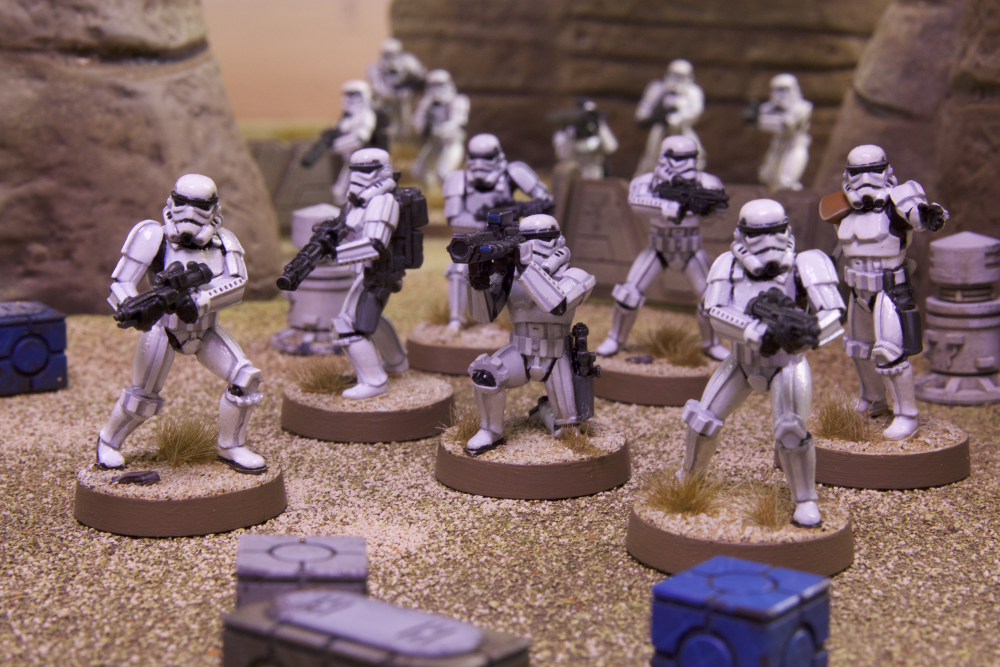 Star-wars-LEGION-FFG jeu de societe partie
