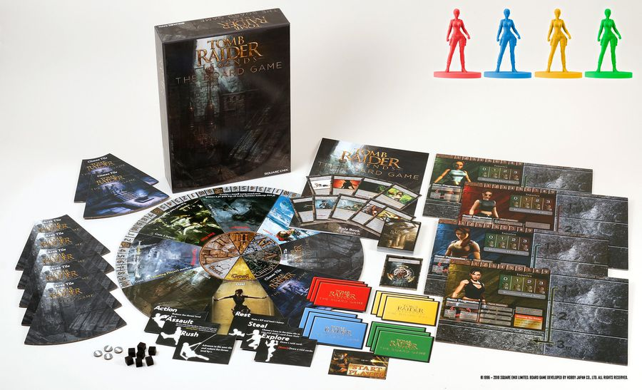 [Ludisme sur table]Jeux de plateaux, de cartes et autres joyeusetés ludique! - Page 17 Tomb-Raider-Legends-The-Board-Game-ludovox-jeu