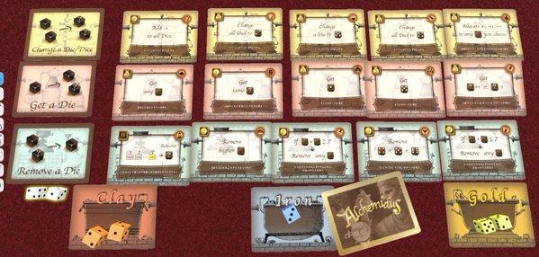 Alchemidus, le nouveau jeu de Shimpei Sato.