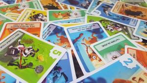 Images colorées et petites phrases sympas accompagnent le jeu !