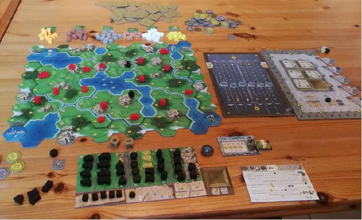 clans of caledonia 01 setup solo