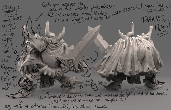 figurines clash of rage ks