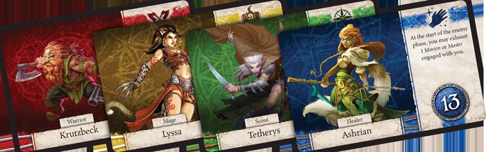 heoes of terrinoth jeu de cartes