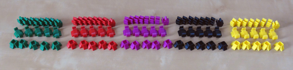 impression 3D Meeples