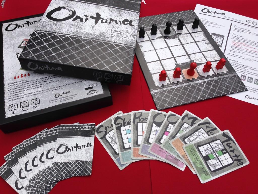 Onitama, qui va changer de forme dans sa version américaine à venir.