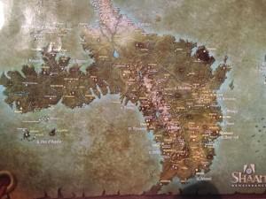 la carte d'Héos