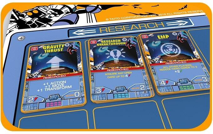 space invaders le jeu de deckbuilding