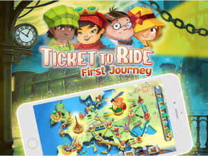 ticket to ride 1st journey