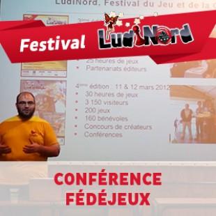 Ludinord 2015 – Conférence Fédéjeux