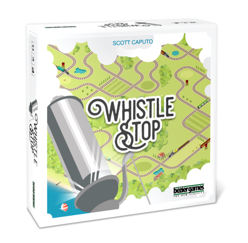 Whistle Stop jeu de societe 3D