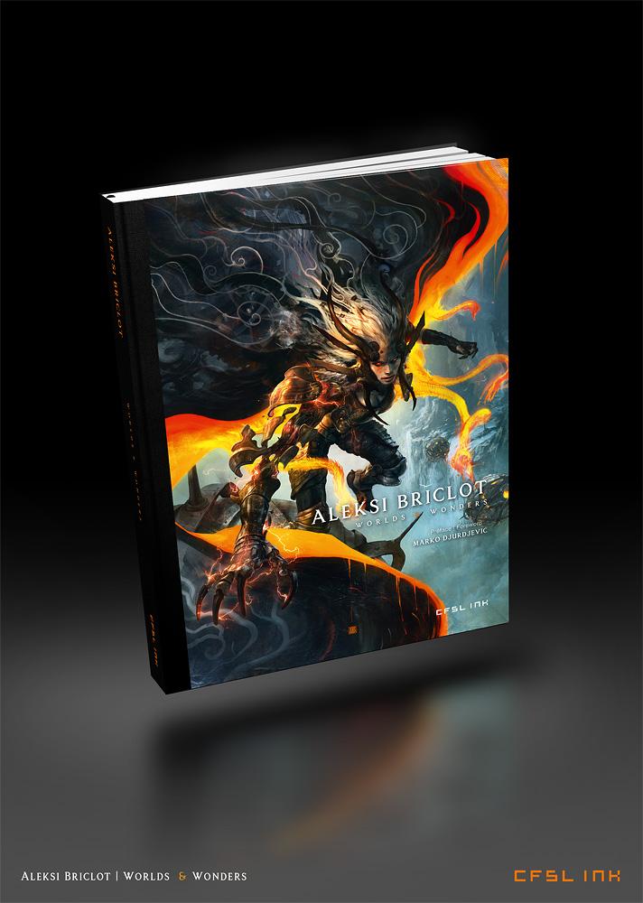 artbook Worlds and Wondersurl