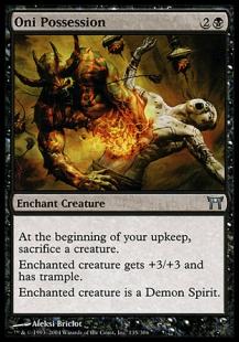 Oni possession - carte Magic -