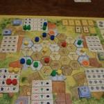 La Granja : plateau au dernier tour
