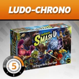 LudoChrono – Extension Smash Up : La grosse boîte pour Geek