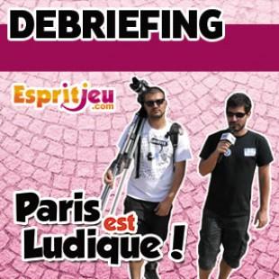 Paris Est Ludique 2015 – Debriefing