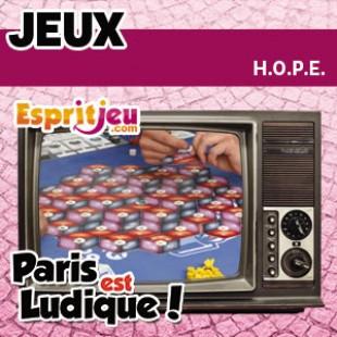 Paris Est Ludique 2015 – H.O.P.E. – Morning Players