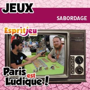Paris Est Ludique 2015 – Sabordage – Origames