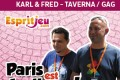 Paris Est Ludique 2015 – Interview Fred & Karl Marcelle – Geek Attitude Games