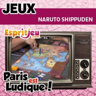 Paris Est Ludique 2015 – Naruto Shippuden – Yoka Games