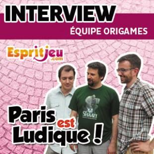 Paris Est Ludique 2015 – Interview équipe Origames
