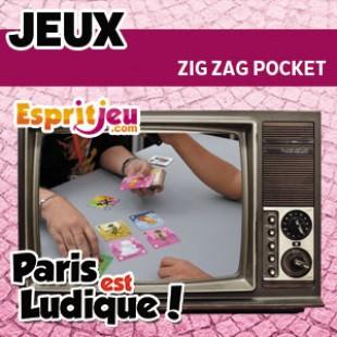 Paris Est Ludique 2015 – Zig Zag Pocket – Atalia