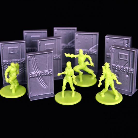 Portes 3D compatibles Zombicide