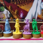 Figurines en gros plan de Argent the consortium