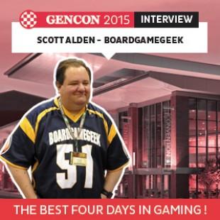 GenCon 2015 – Interview Scott Alden – BoardGameGeek – VOSTFR