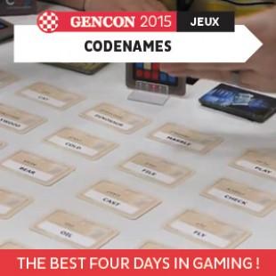 GenCon 2015 – Codenames – Czech Games – VOSTFR