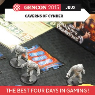 GenCon 2015 – Caverns of Cynder – Flying frog – VOSTFR