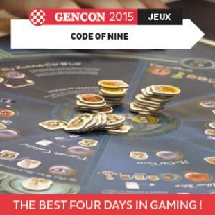 GenCon 2015 – Code of nine – Z-Man Games – VOSTFR