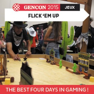 GenCon 2015 – Flick 'em up- Pretzel Games – VF