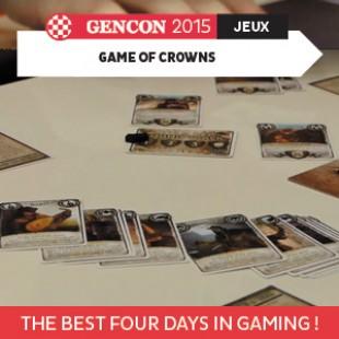GenCon 2015 – Game of crowns – AEG – VOSTFR