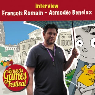 Brussels Games Festival 2015 – Interview François Romain – Asmodée Benelux – VF