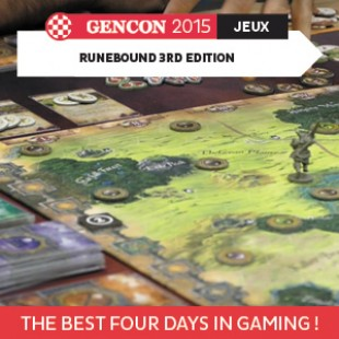 GenCon 2015 – Runebound 3rd edition – Fantasy Flight Games – VOSTFR