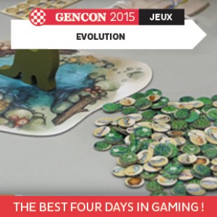 GenCon 2015 – Evolution – North Star Games – VOSTFR