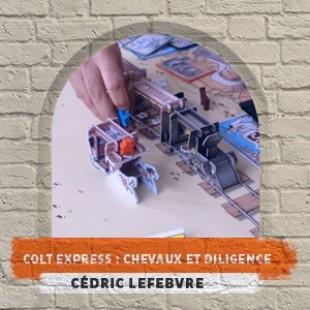 Orléans joue 2015 – Colt Express : chevaux et diligence – Cédric Lefebvre