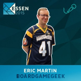 Essen 2015 – Interview Eric Martin – Boardgamegeek – VOSTFR
