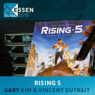 Essen 2015 – jeu Rising 5 – Gary Kim et Vincent Dutrait – VOSTFR