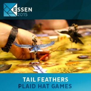 Essen 2015 – jeu Tail Feathers – Plaid Hat Games – VOSTFR