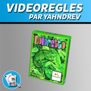 Vidéorègles – Coloretto