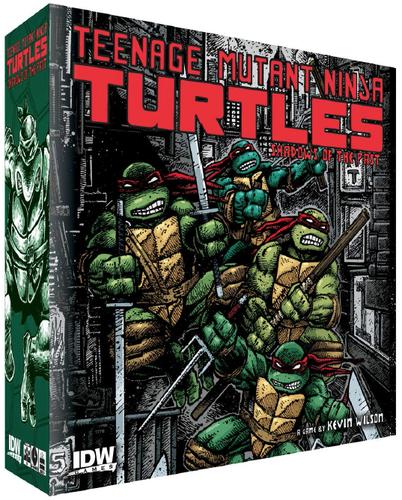 Teenage Mutant Ninja Turtles Shadows of the Past  md