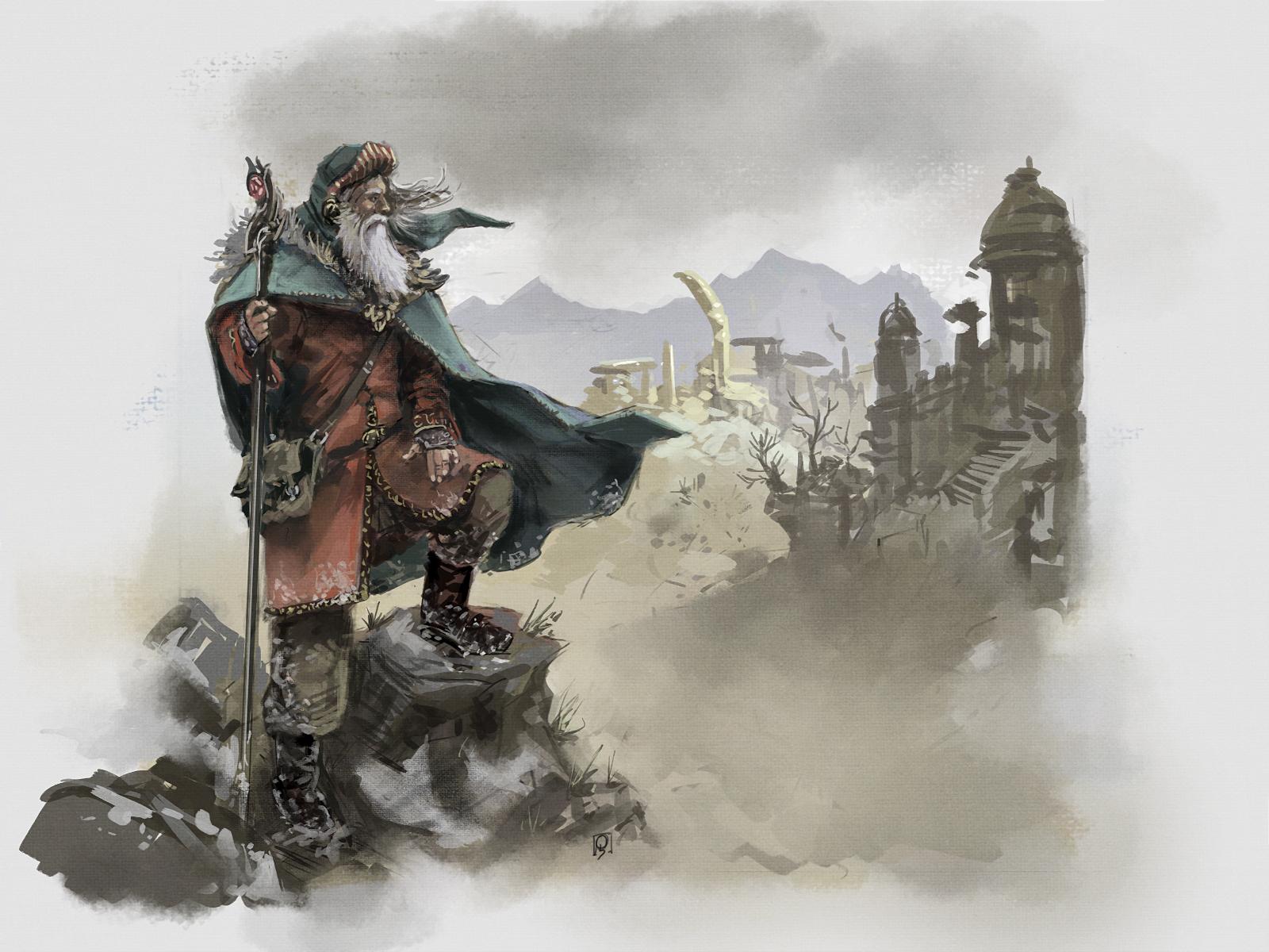 Wizard-sketch