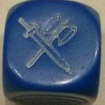 dé bleu