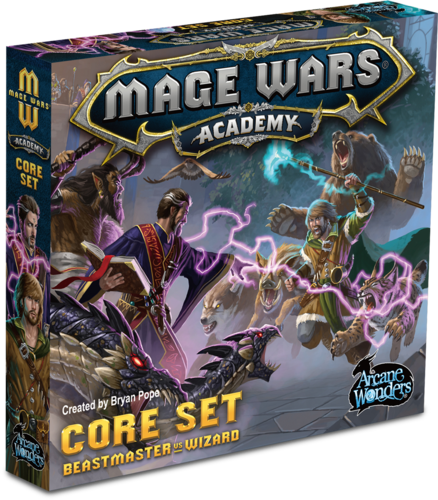 mage wars academy md