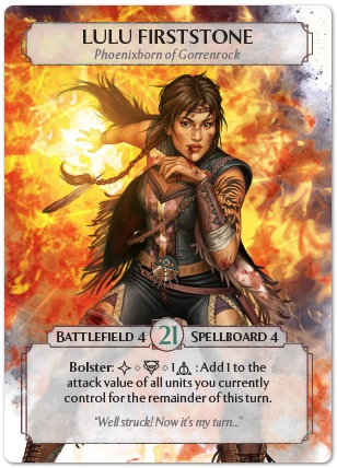 AshesRise of the Phoenixborn – Lulu Firststone