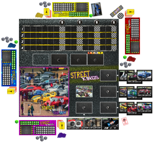 Street Kings Boardgame ok
