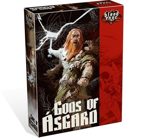 Blood Rage Gods of Ásgard