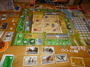Three kingdoms Redux - partie en cours