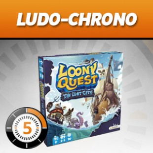 LudoChrono – Extension Loony Quest : The lost city